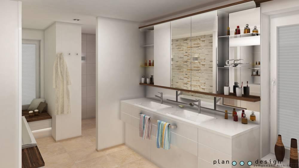 Badezimmer Architektur bad wellness spa plan design